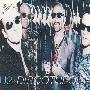 U2 - Discotheque 2 Tracks Card Sleeve