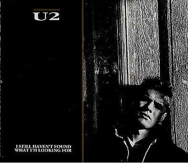 U2 - I Still Haven't Found What I'm Looking For 3-track Jewel Case