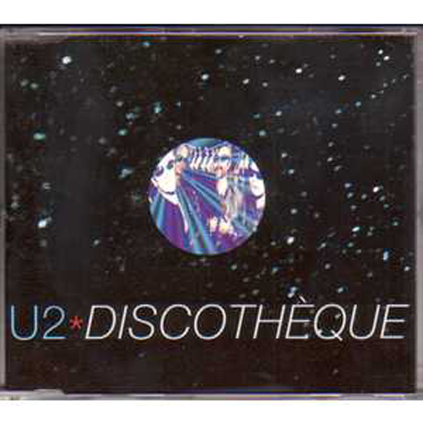 U2 - Discotheque 4-track Jewel Case
