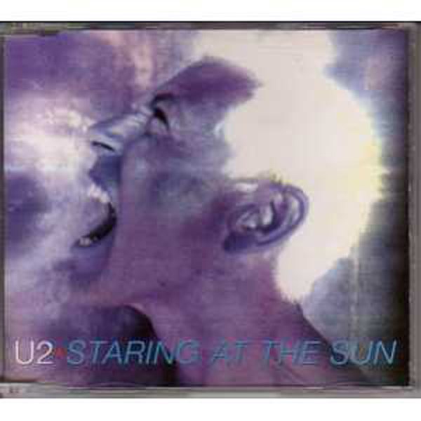 U2 - Staring At The Sun 4 Tracks Jewel Case