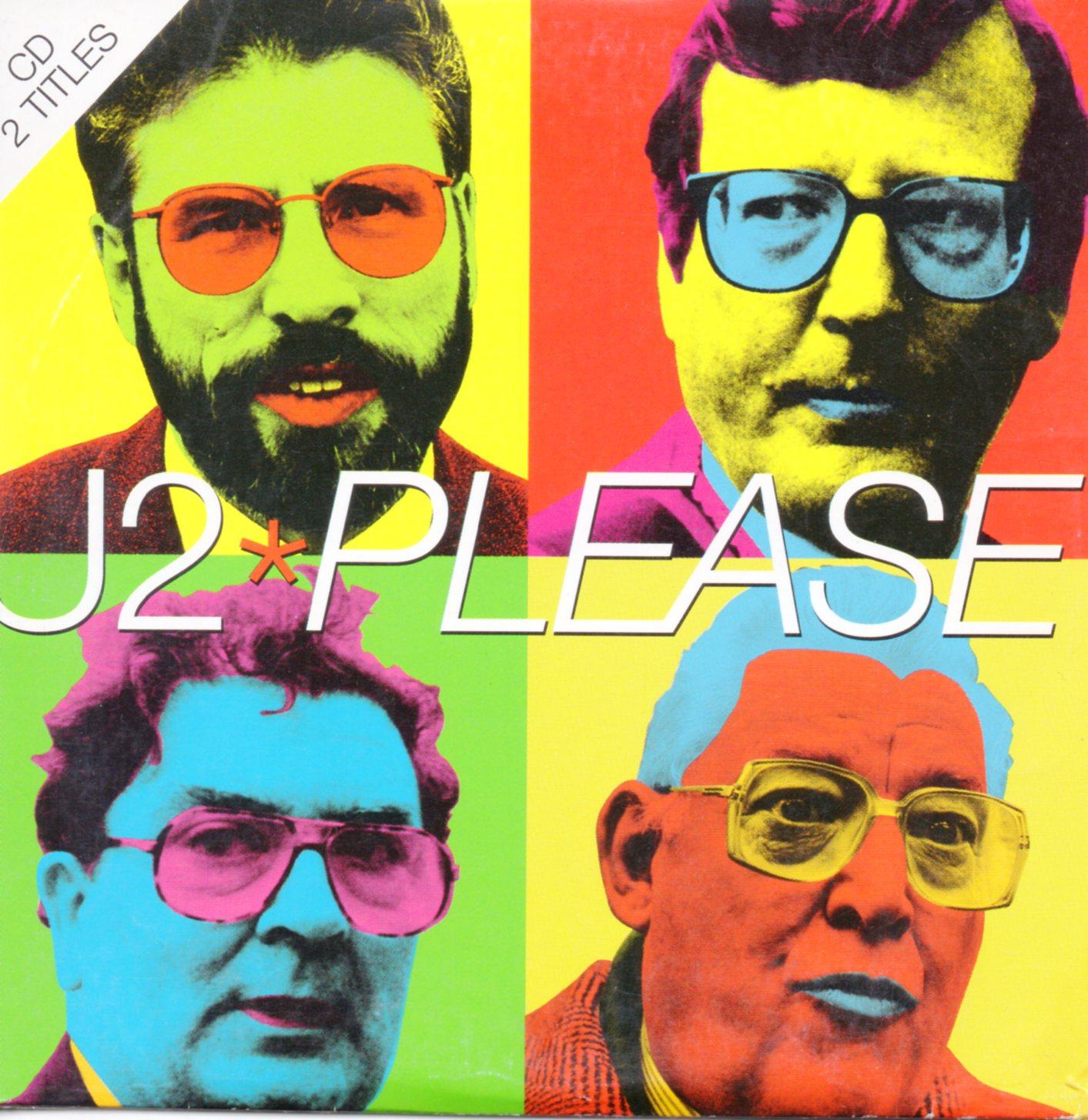 U2 - Please 2-Track CARD SLEEVE - CD single