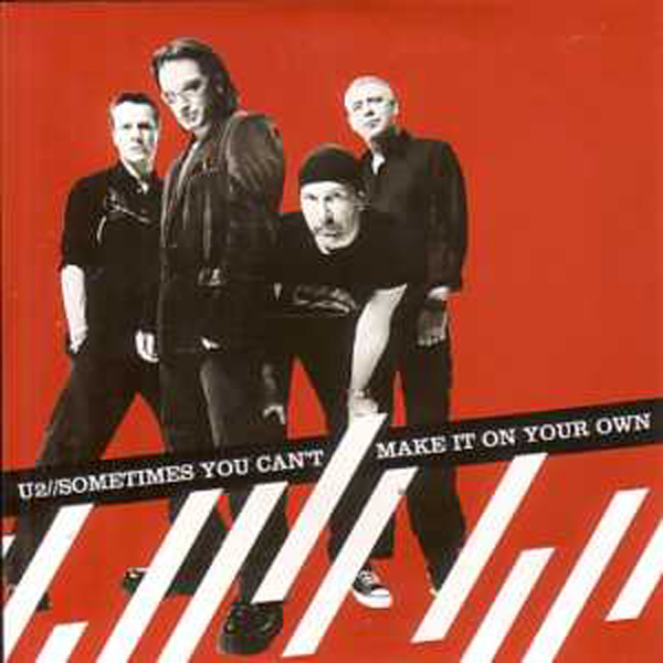 U2 - Sometimes You Can't Make It On Your Own 2 Tracks Card Sleeve