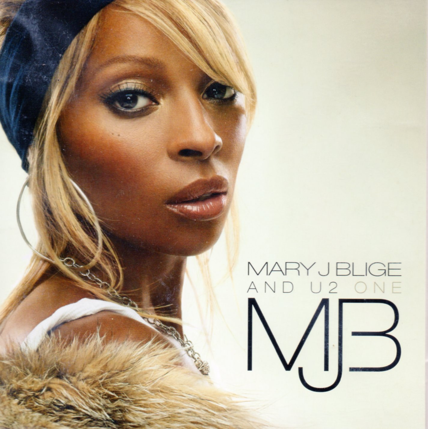 U2 & MARY J BLIGE - One 2-track CARD SLEEVE - CD single