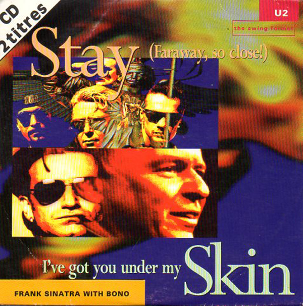 U2 &amp; Frank SINATRA - Stay Card Sleeve 2-track