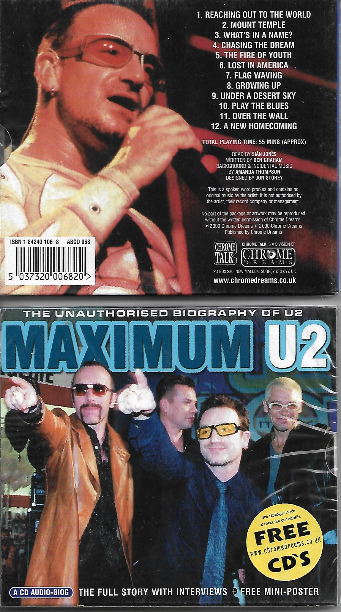 U2 - Maximum U2 - Livre + Cd Interview -