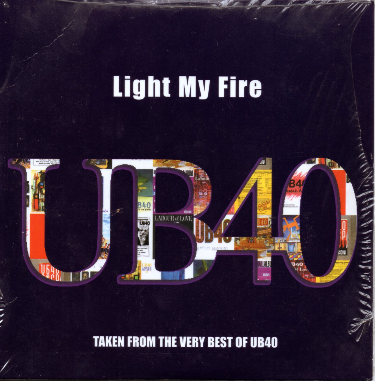 UB40 - The DOORS - Light My Fire 1-track Card Sleeve