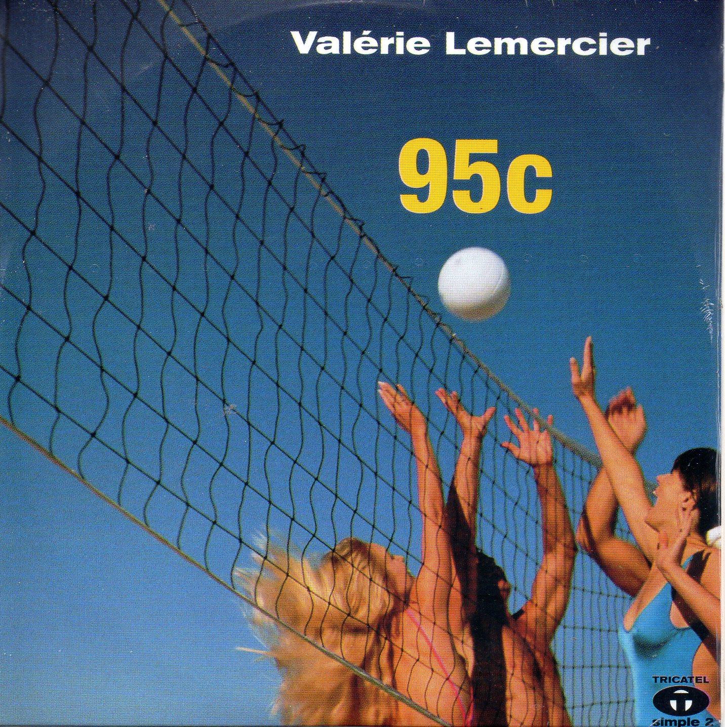 VALÉRIE LEMERCIER - BERTRAND BURGALAT - 95c 2-Track CARD SLEEVE - CD single
