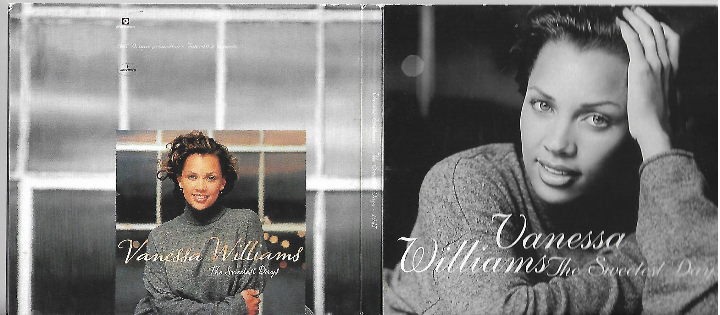 Vanessa WILLIAMS - The Sweetest Days French Promo Digipack