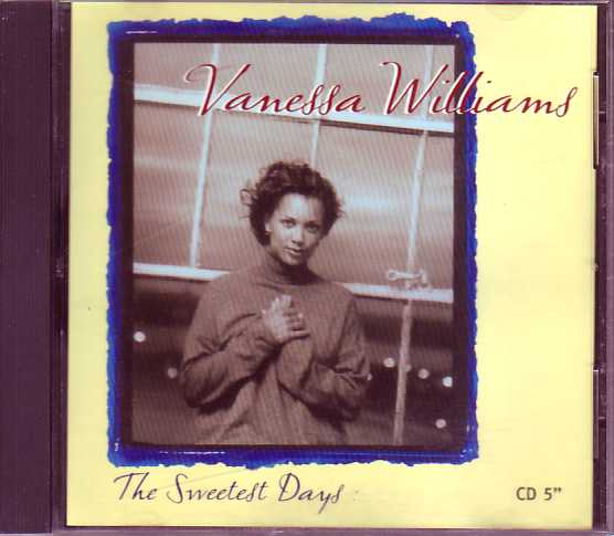Vanessa WILLIAMS - The Sweetest Days 4-track Jewel Case