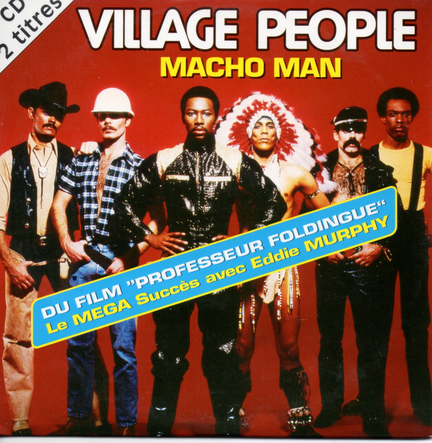 VILLAGE PEOPLE - Macho Man 2 Tracks Card Sleeve