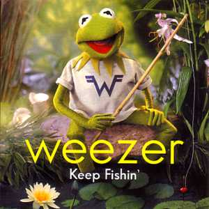 Weezer - Keep Fishin' single cover