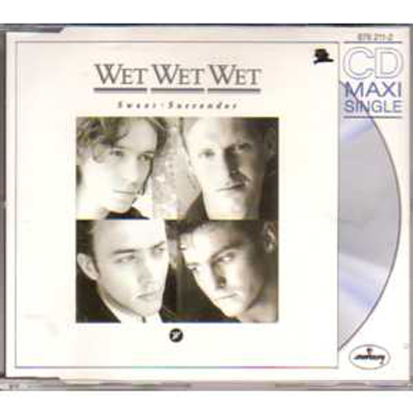 WET WET WET - Sweet Surrender 4 Tracks Jewel Case