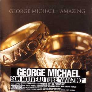 George MICHAEL - Amazing 2-track Card Sleeve French Sticker