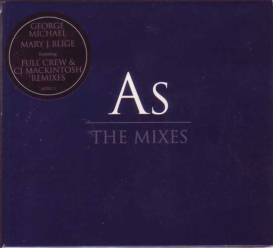 George MICHAEL &amp; Mary J. BLIGE - As The Mixes 3-track Digipack