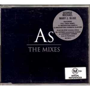 George MICHAEL &amp; Mary J. BLIGE - As Australian Limited 7-track Jewel Case