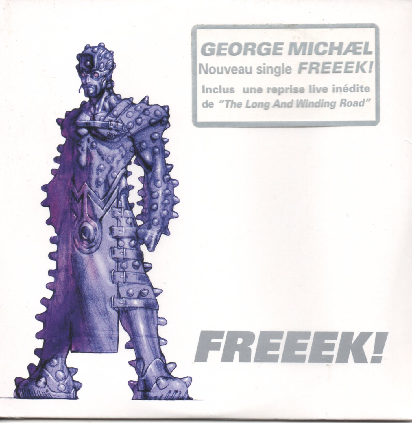 GEORGE MICHAEL - Freeek 3-track CARD SLEEVE - CD single