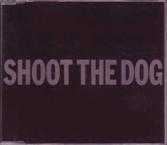 George MICHAEL - Shoot The Dog Promo 1-track Jewel Case