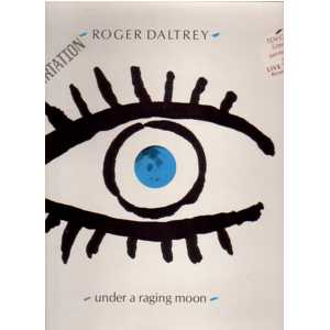 THE WHO - ROGER DALTREY - Under a raging moon Ltd Edition Gatefold sleeve - 45T (SP 2 titres)